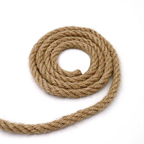 Cuerda de yute de 6, 8 y 10 mm.