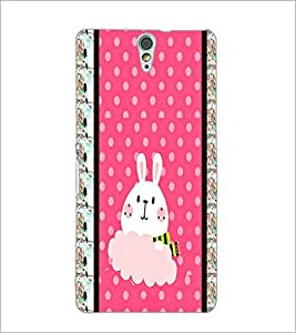 PrintDhaba Bunny D-3821 Back Case Cover for SONY XPERIA C5 ULTRA (Multi-Coloured)