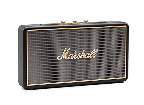 Marshall Stockwell Altoparlante Portatile, Bluetooth, Nero