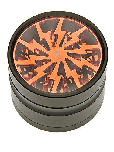 After Grow Thorinder 6 cm mit Ninja Tool Reinigungswerkzeug - schwarz / orange - head&nature Smokeshop