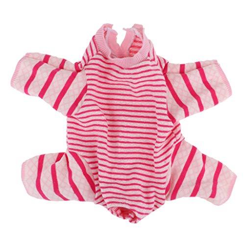 CUTICATE Reizende Gestrickte Strickjacke Kleidung Für 18inch Reborn Cat Doll Supllies -