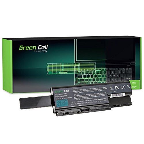 Green Cell Extended Serie Laptop Akku für Acer Aspire 8735G-744G100MI 8735G-744G96BN 8735G-874G64MN 8735Z 8735ZG 8735ZG-434G32MN 8735ZG-434G50MN 8735ZG-444G1TMN 8735ZG-444G32MN 8735ZG-444G50MN 8735ZG-446G64MN 8735ZG-454G64MN 8920 8920-6030 8920-6048 8920-6671 8920G 8920G-6829 8920G-6A3G25BN 8920G-6A4G32BN 6600mAh