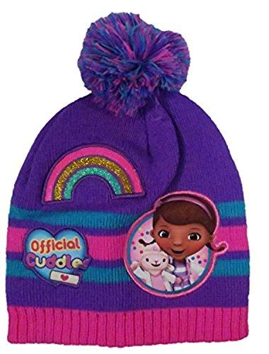 Disney Toddler Girls Doc McStuffins Beanie Winter Hat and Glove Set - Size 2-7 [4014]