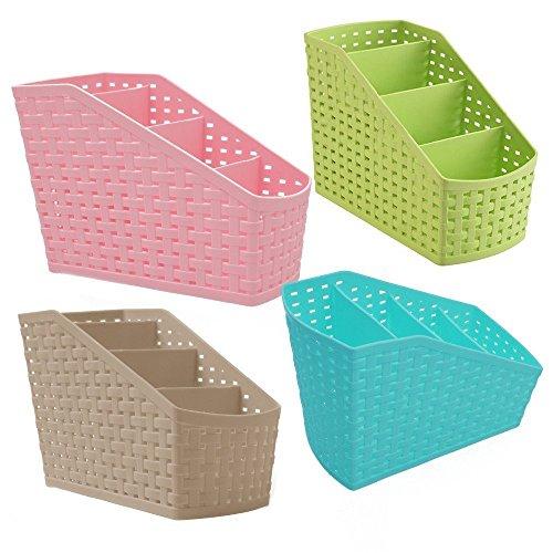 NEO VICTORY™ Multi Segment Hollow Basket/Storage Box For Bedroom,Bathroom,Office Table, Storage Organizer...