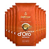 9x DALLMAYR Crema d' Oro INTENSA (á ganze Bohnen / 1000g)