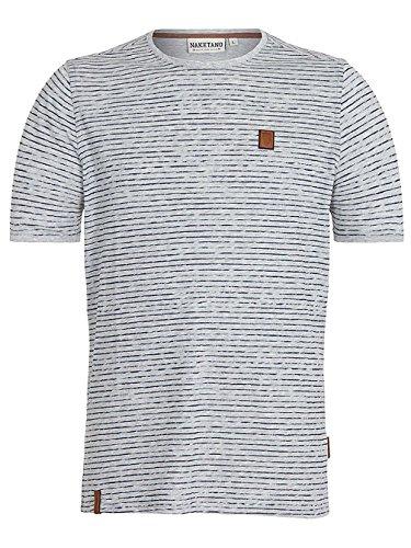 Naketano Herren T-Shirt Grey Melange