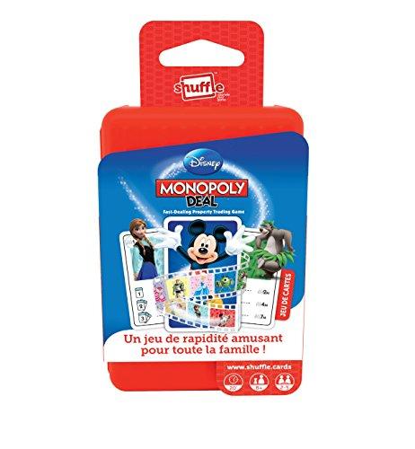Carta Mundi A1502469 - Juego de cartas Monopoly, diseño de Disney