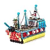 Tarta chuches Playmobil barco pirata