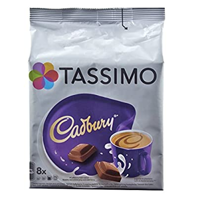 Tassimo Cadbury Hot chocolate 8 Servings Now even more CHOCOLATEY!