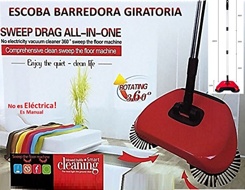 Barredora Spin Escoba Sweep Drag All-in-one NO ES ELECTRICA.