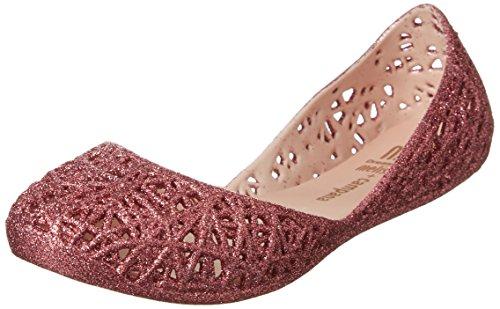 MINI MELISSA -Ballerina fucsia in plastica MELFLEX, gomma profumata,elegante scarpa bordeaux Bambina, Donna-32