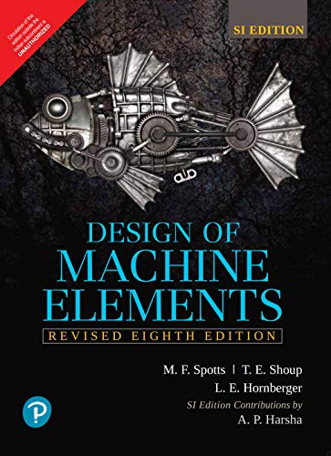 Design of Machine Elements by Pearson