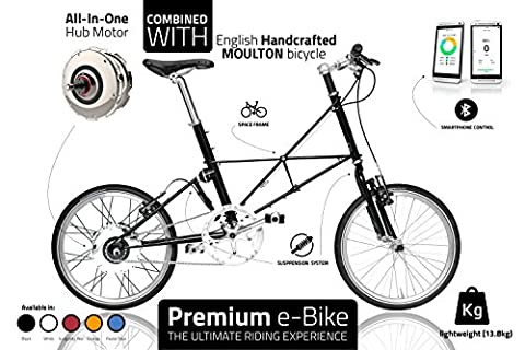 Premium Electric Bike - Exclusive eBike for Everyday Use - Lightweight Electrical Bicycle -