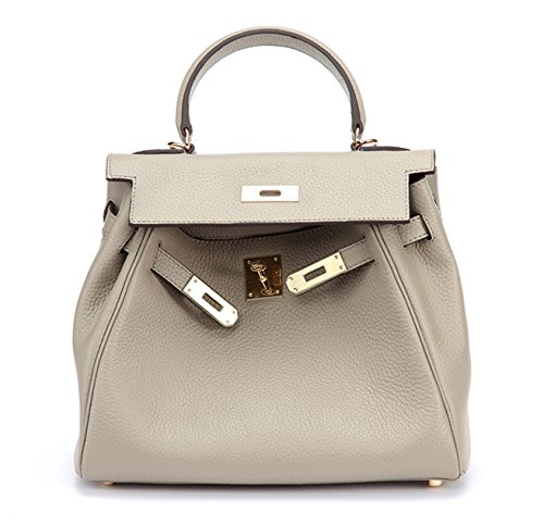 MACTON cuir femme épaule de sac à main sac Messenger multi-usages MC-8030 (gris) Bleu foncé