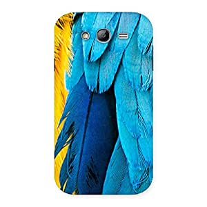 Delighted Blue Feathur Back Case Cover for Galaxy Grand Neo Plus