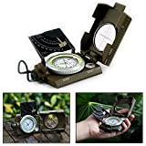 Gearmax Professionelle Wasserdicht Militärkompass Freien Militär Marschkompass Expeditionen Camping Wandern Outdoor Sport
