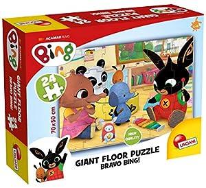 Lisciani- Bing Giant Floor 24 75805, Multicolor