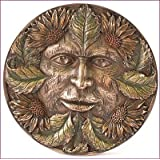 Green Man Wall Plaque by Nemesis Now - Summer