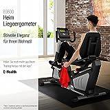 Sitzheimtrainer ES600 Profi Ergometer Sportstech Anwendung