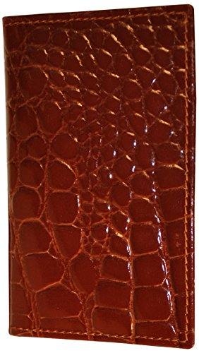 budd-leather-crocodile-bidente-business-card-case-cognac