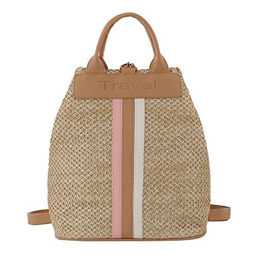 Mitlfuny handbemalte Ledertasche, Schultertasche, Geschenk, Handgefertigte Tasche,Neue beiläufige Strohbeutel-Handtaschen Kurier-weiblicher Wilder Kursteilnehmer-Beutel-Schulter-Beutel