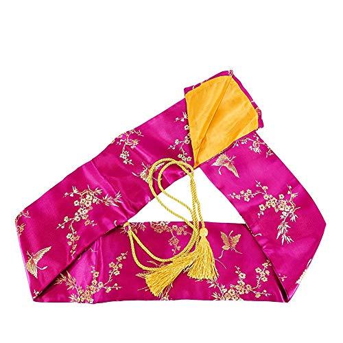 Fcyylight Tai Chi Schwert Prop hochwertige Satin Tasche Lila Schwert Tasche