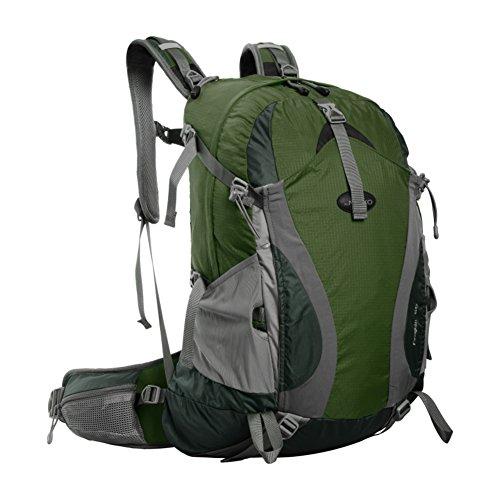 Im Freienbergschulterbeutel / wasserdichte Tasche mit großer Kapazität / Freizeit Wanderpauschale-schwarz 30L Armee-Grün
