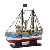 Modello di nave di latta – in stile antico-retro-vintage - diverse dimensioni - (Nave piccolo - ca. 16 x 5 x 16 cm)