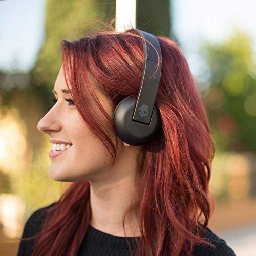 Skullcandy Uproar Wireless On-Ear Headphone with Mic (Black) Image 3