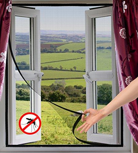 Selbstklebendes Insektenschutzgitter für Fenster