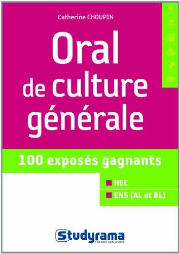 Oral de culture gnrale