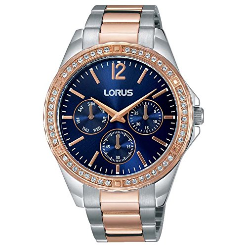 Lorus Womens Chronograph Quartz Watch with Stainless Steel Strap RP684CX9
