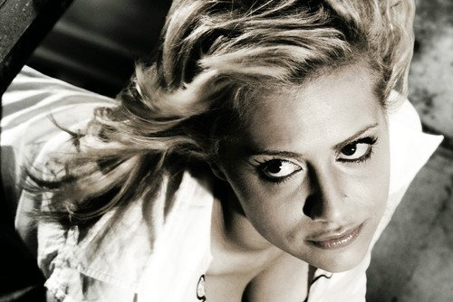 Moviestore Brittany Murphy als Shellie in Sin City 91x60cm Farb-Posterdruck