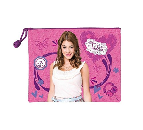 Neceser Violetta Disney Travel impermeable 24cm