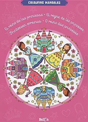 El reino de las princesas (Colouring Mandalas)