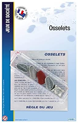 F.CARTES - osselets 5 metal