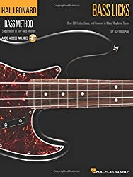 Bass Licks: Over 200 Licks, Lines, and Grooves in Many Rhythmic Styles (Hal Leonard Bass Method) Bk/online audio by Ed Friedland (2009-01-01)
