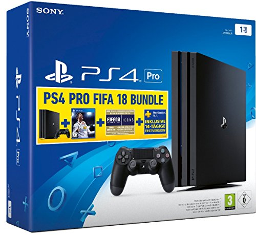 PlayStation 4 Pro - Konsole (1TB,B-Chassis) inkl. FIFA 18