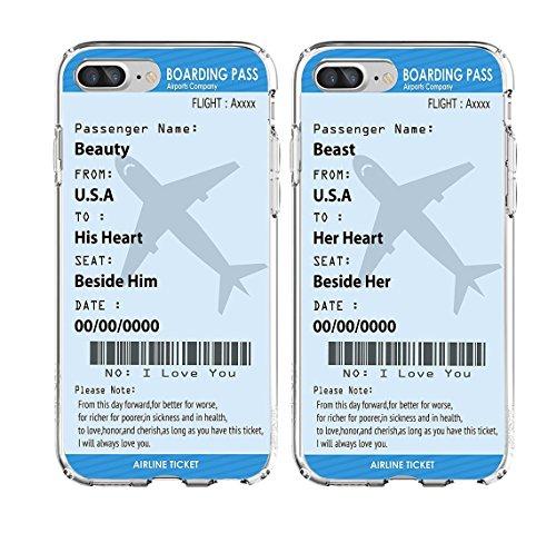 Shark Bordkarte Plan Tickets Best Friends Stil/Freund und Freundin/His und Hers/Passende Paar Fällen für, Beast:iPhone 5/5s
