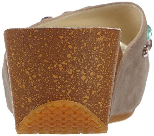 CAFèNOIR  Slipper, Pantoufles non doublées femme Multicolore - Mehrfarbig (2078 TAUPE/MULTI)
