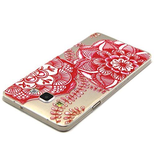 Voguecase® für Apple iPhone 5C, Schutzhülle / Case / Cover / Hülle / TPU Gel Skin (NEW YORK) + Gratis Universal Eingabestift Rot Teppich 02