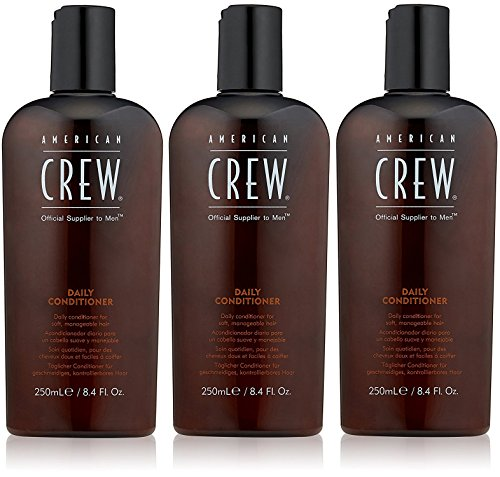 3unidades American Crew Classic Daily Conditioner