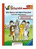 Ein Zebra auf dem Ponyhof (Leserabe mit Mildenberger Silbenmethode)