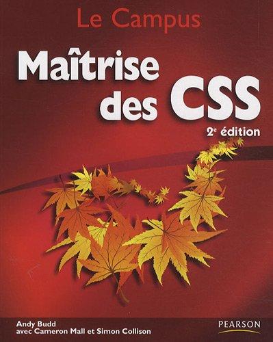 Maîtrise des CSS par Andy Budd