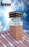 GEMI Electronica Schornstein Ventilator Rauchsauger - 2