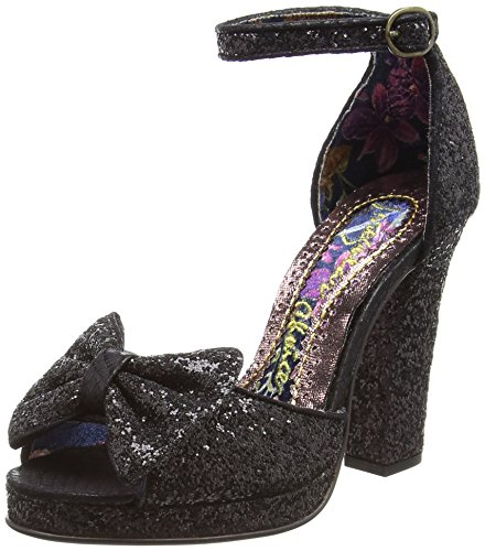 Scelta Sandali Donna Di Fiammeggiante Colore nero Alla Cinturino Giugno Irregolare Caviglia 5nqw7Y0