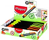 MAPED Crayon Gomme Rond 6,75mm Soft-Grip Coloris variés à...