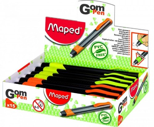 maped-crayon-gomme-rond-675mm-soft-grip-coloris-varies-a-lunite