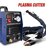 Plasma Cutter 50A HF Cutting Machine 12mm Clean Cut 220V with Consumables