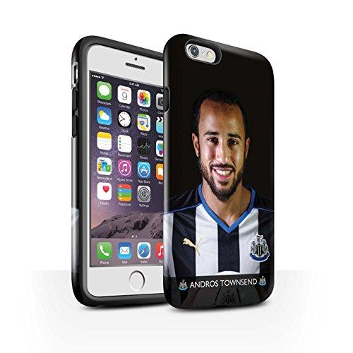 Offiziell Newcastle United FC Hülle / Glanz Harten Stoßfest Case für Apple iPhone 6 / Pack 25pcs Muster / NUFC Fussballspieler 15/16 Kollektion Townsend